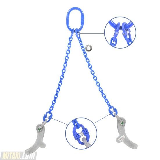 Stelcon Hooks Chain Sling With 2 Legs